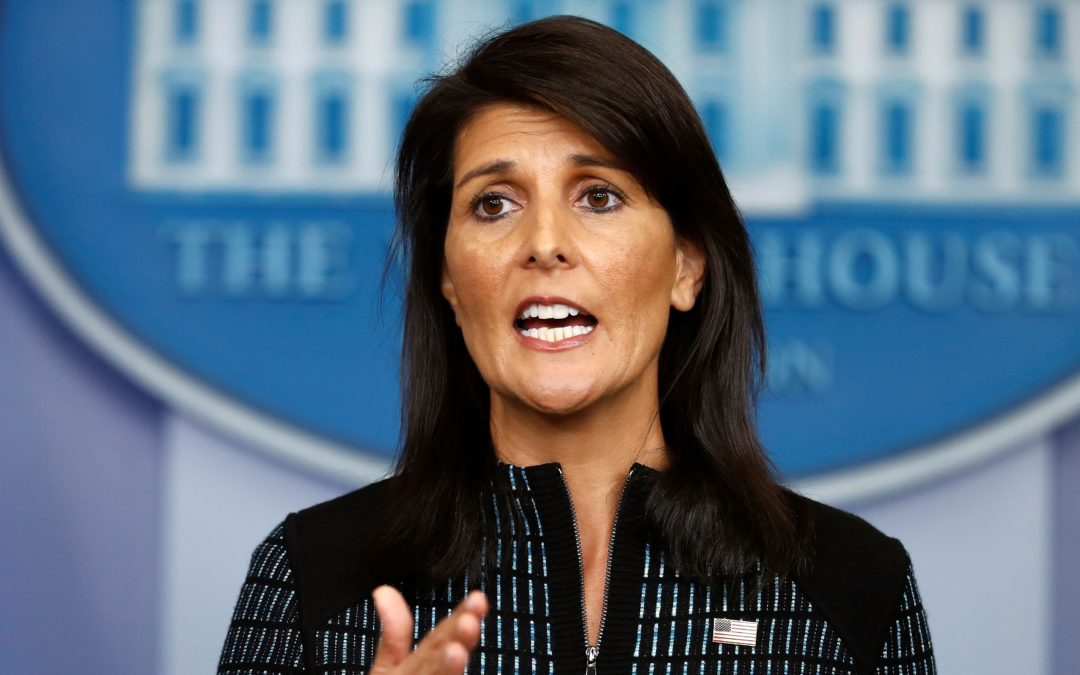 Nikki Haley: un terremoto all'ONU