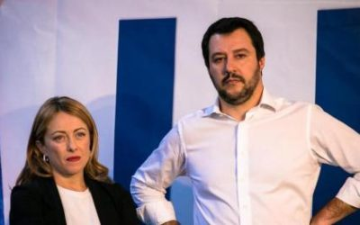 Social: Salvini e Meloni dicono le stesse cose