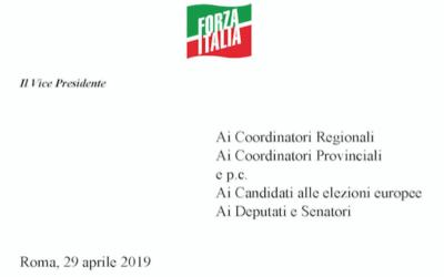 """ESCLUSIVO TPI – La lettera segreta di Tajani ai candidati di Forza Italia: """"Alle europee dovete far prendere voti a Berlusconi"""""""