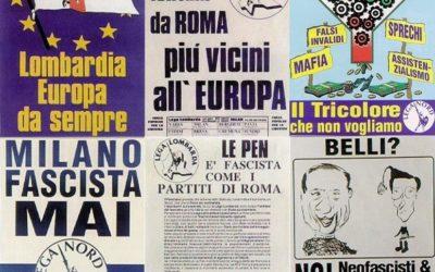 Quando la Lega era europeista e anti-sovranista
