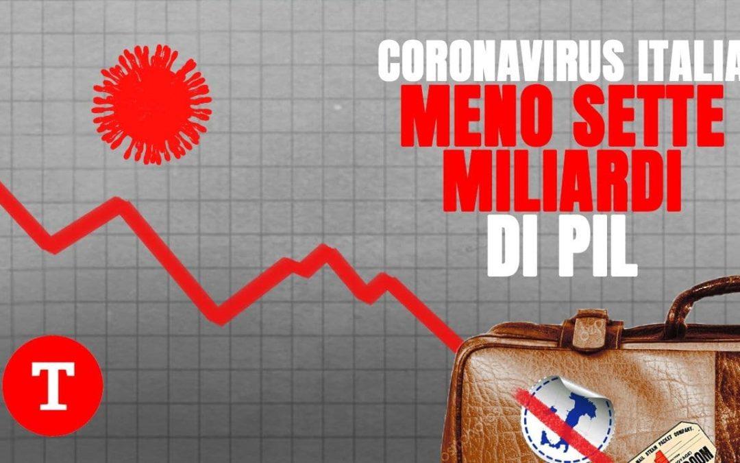 Il coronavirus affossa il turismo in Italia: una botta che ci farà perdere 7 miliardi di Pil